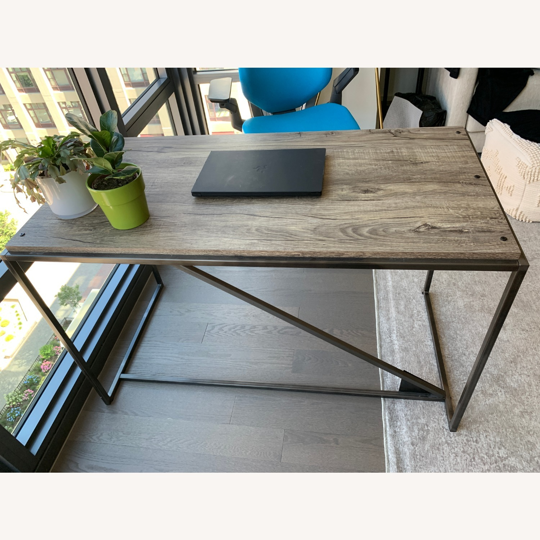 Wayfair Rustic Writing Desk - image-1