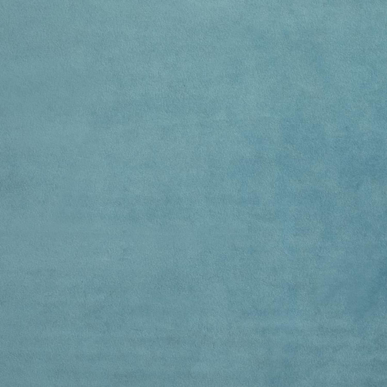 Sofa Bed In Teal Velvet W/ Walnut Finish Legs - image-6