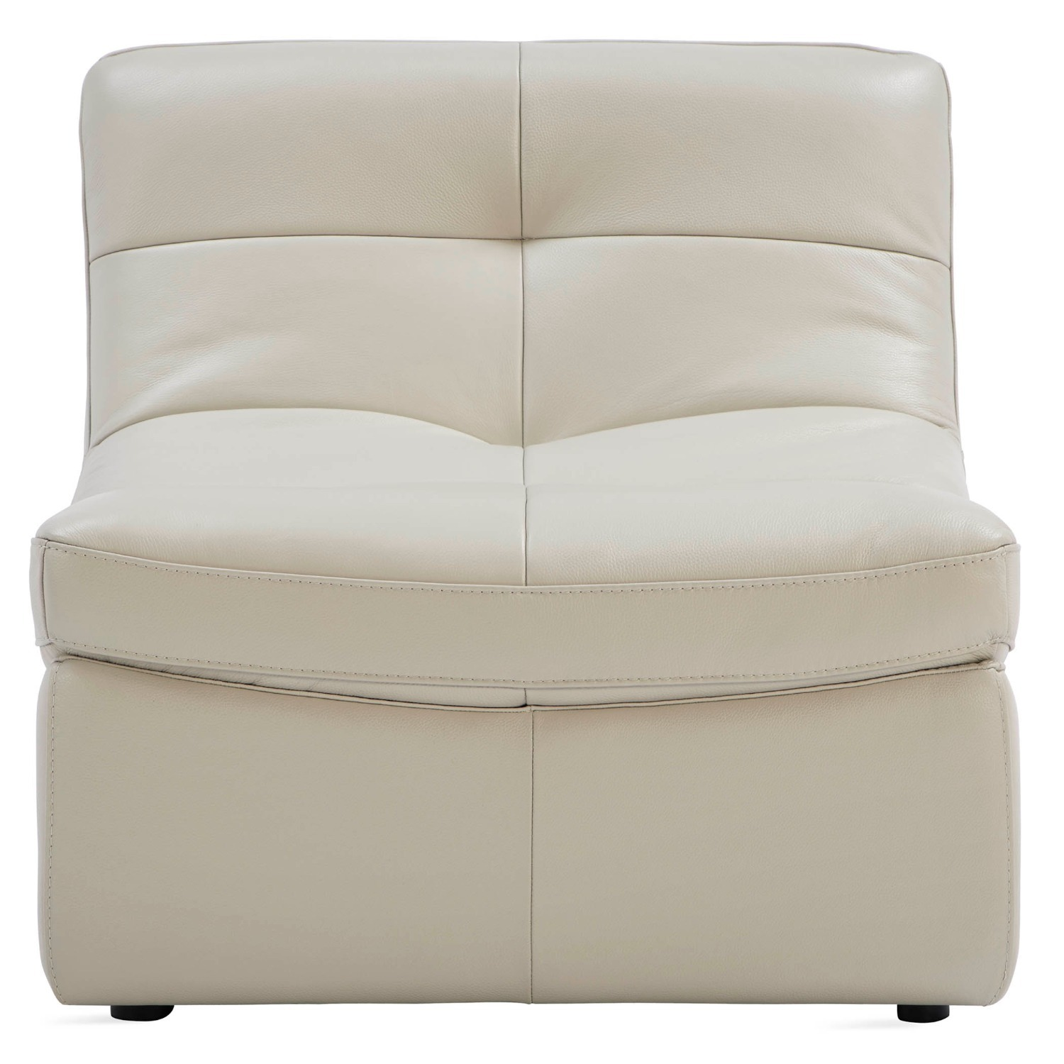 Zgallerie White Leather Sectional Sofa - image-4