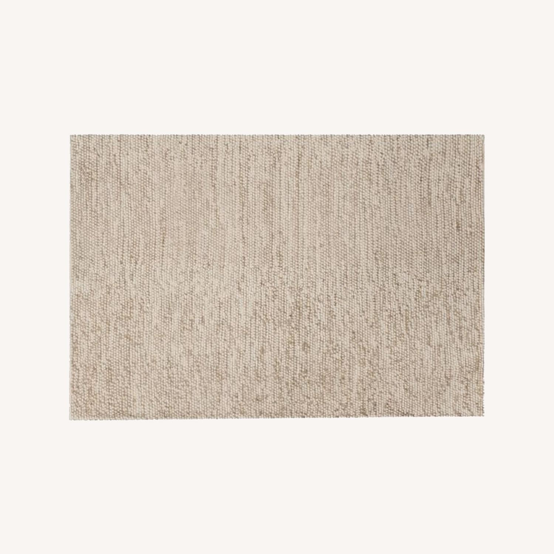 West Elm Mini Pebble Jute Wool Rug, 2'x3' - image-0