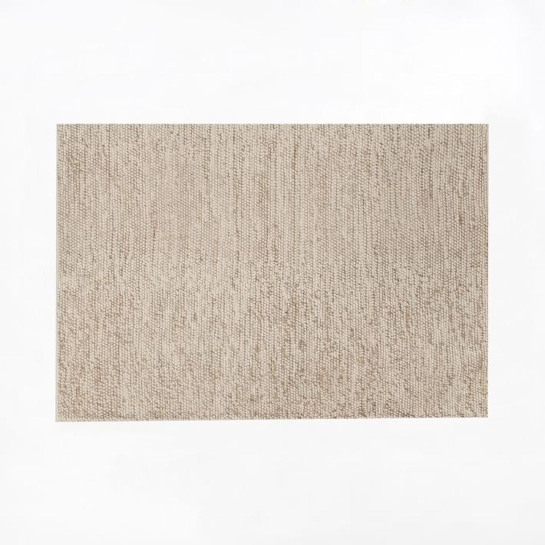 West Elm Mini Pebble Jute Wool Rug, 2'x3' - image-1