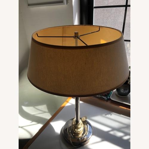 Used Vintage Nessen Brass Table Desk Lamp for sale on AptDeco