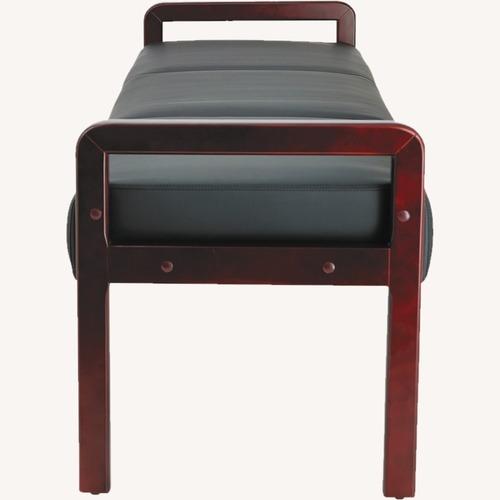 Used Wayfair Leather Bench for sale on AptDeco