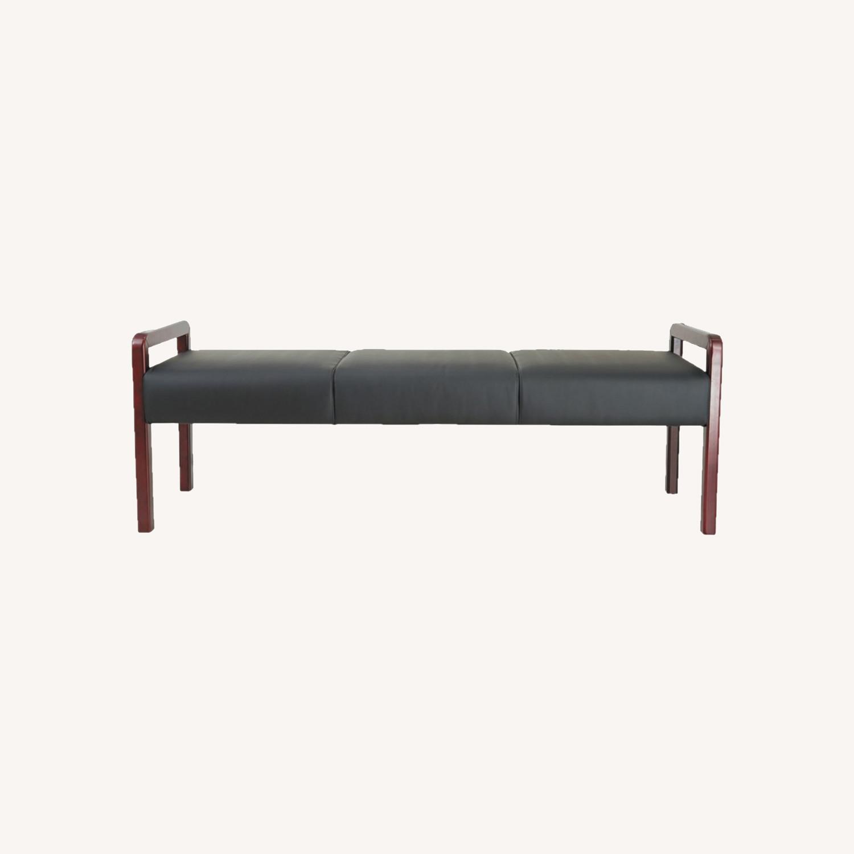 Wayfair Leather Bench - image-0