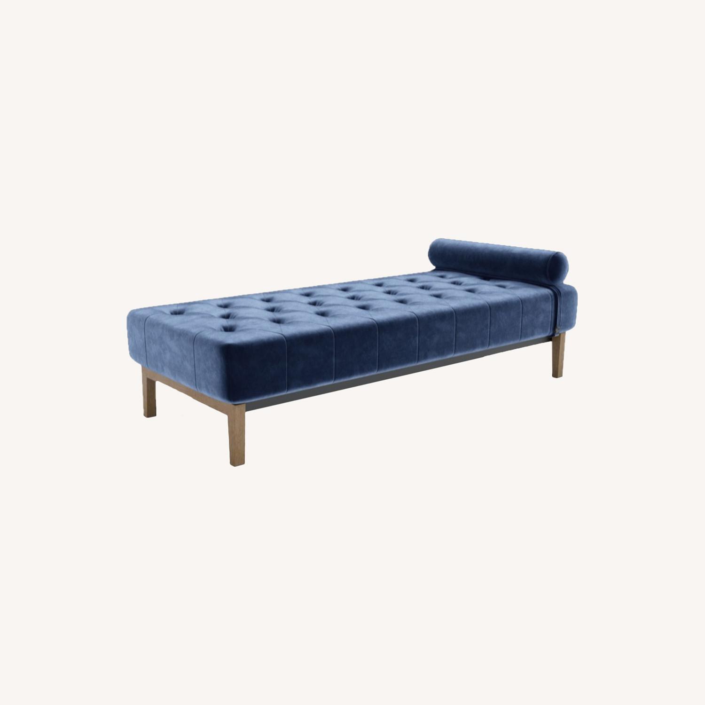 Wayfair Armless Chaise Lounge - image-0