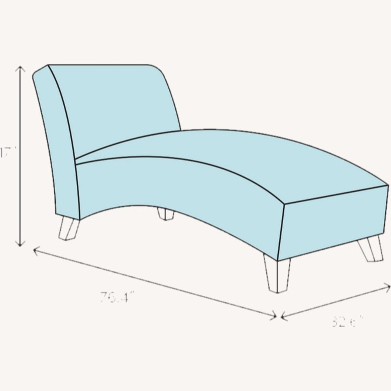 Wayfair Armless Chaise Lounge - image-3