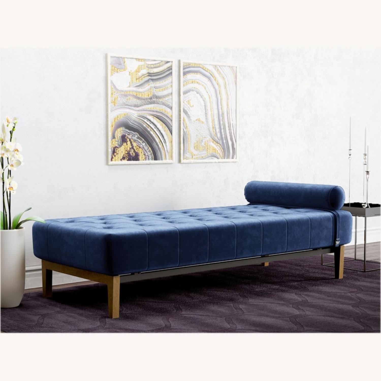Wayfair Armless Chaise Lounge - image-2