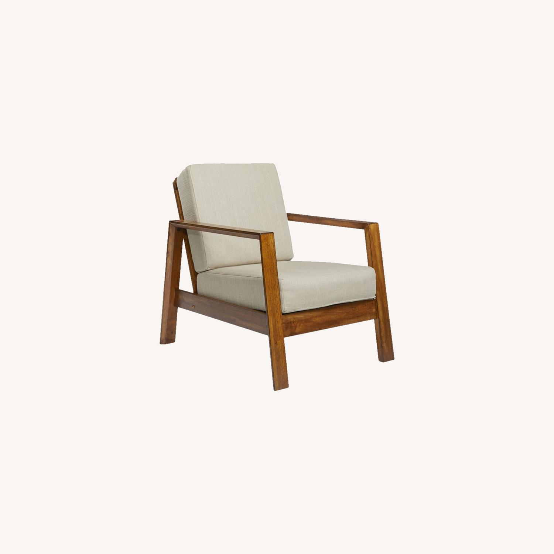 Wayfair Modern Armchair Pair - image-8