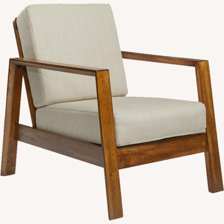 Wayfair Modern Armchair Pair - image-1