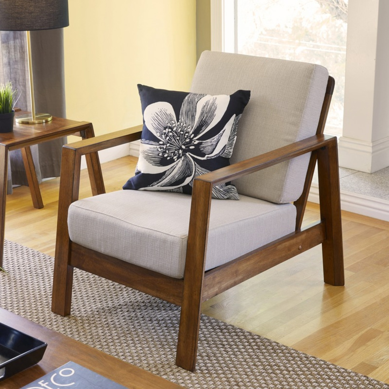 Wayfair Modern Armchair Pair - image-4
