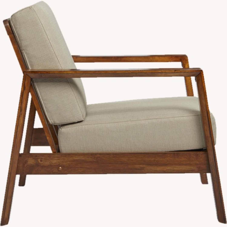 Wayfair Modern Armchair Pair - image-3