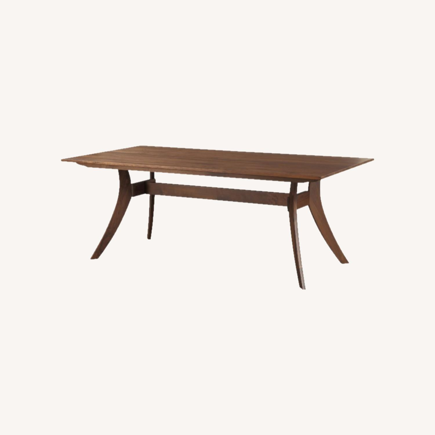 """Wayfair 63"""" Transitional Solid Wood Dining Table - image-0"""