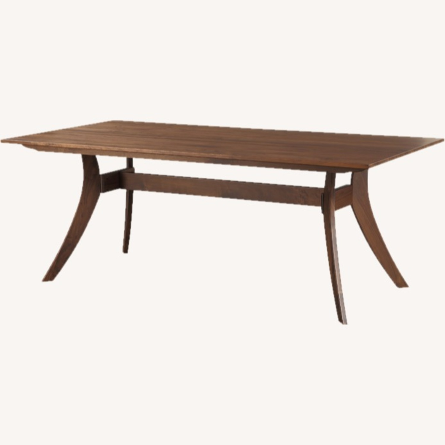"""Wayfair 63"""" Transitional Solid Wood Dining Table - image-2"""