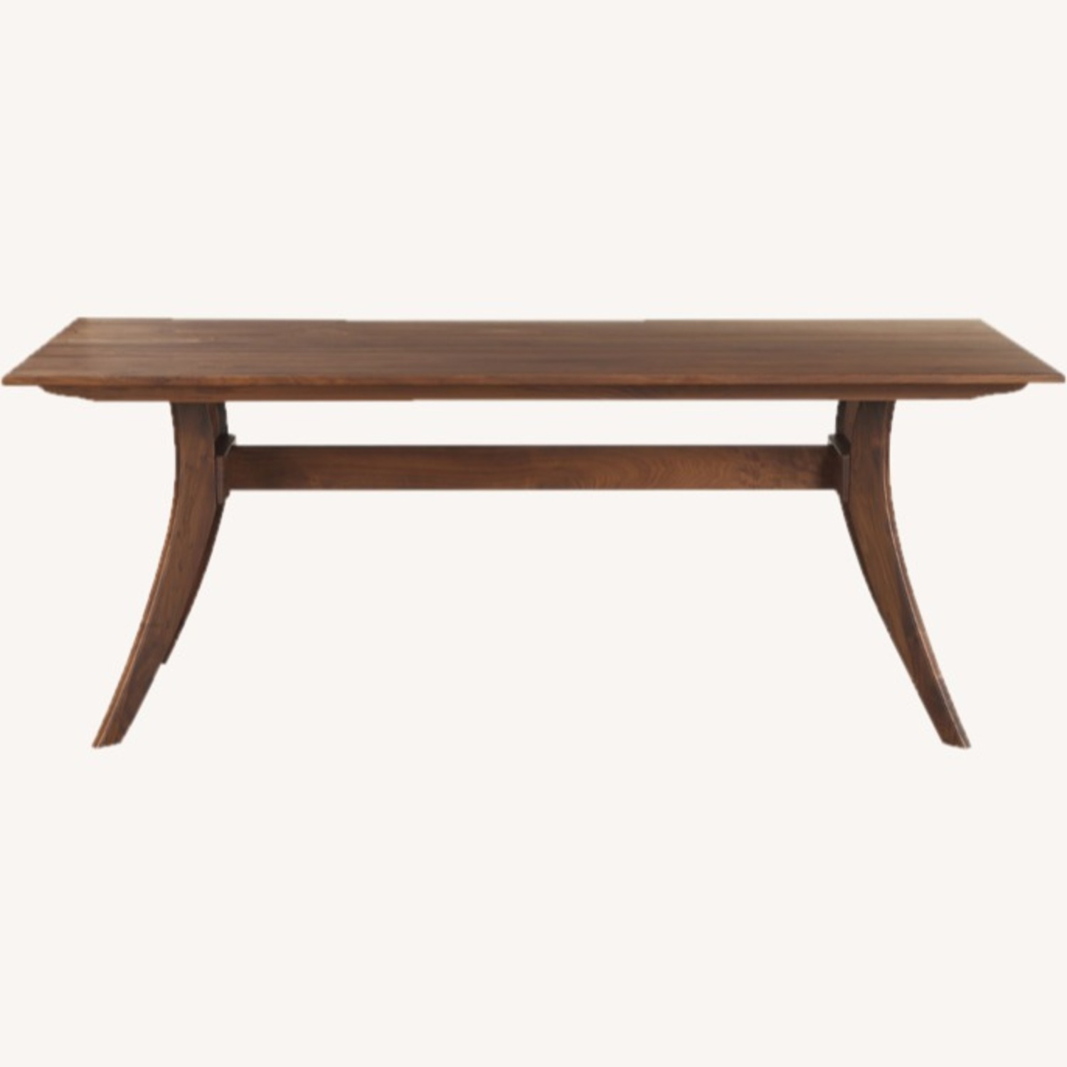 """Wayfair 63"""" Transitional Solid Wood Dining Table - image-1"""