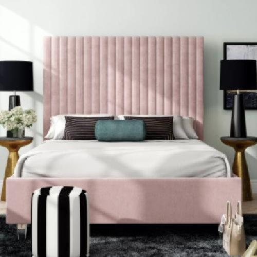 Used Wayfair Fuiloro Upholstered Platform Bed for sale on AptDeco