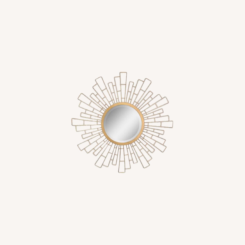 Wayfair Metal Sunburst Beveled Accent Mirror - image-0