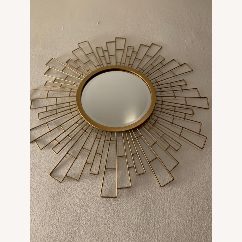 Wayfair Metal Sunburst Beveled Accent Mirror - image-3