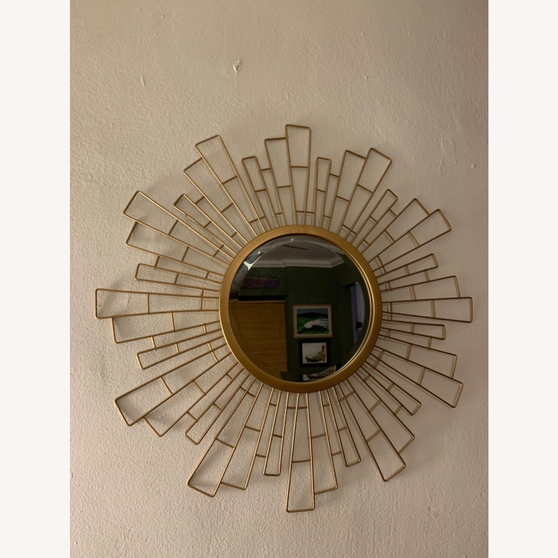 Wayfair Metal Sunburst Beveled Accent Mirror - image-2