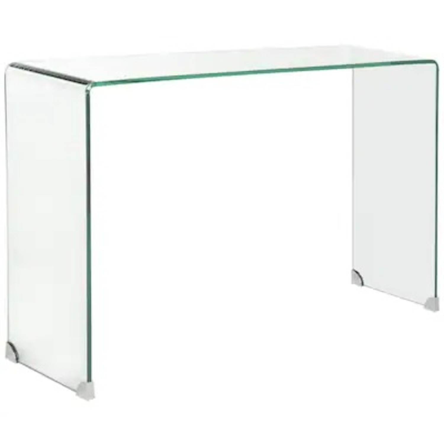 Safavieh Glass Waterfall Console Table Desk - image-3