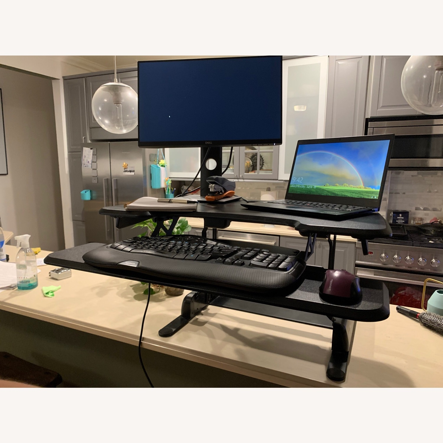 Tabletop Sit-Stand Desk (up to 17 rise) - image-5