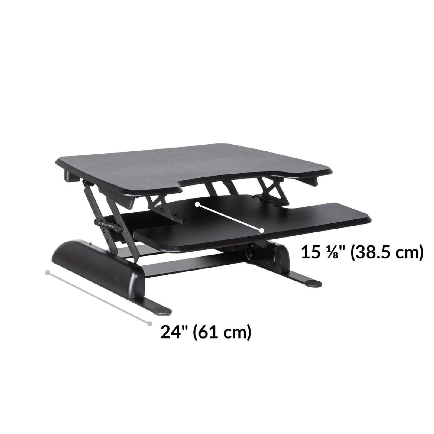 Tabletop Sit-Stand Desk (up to 17 rise) - image-9