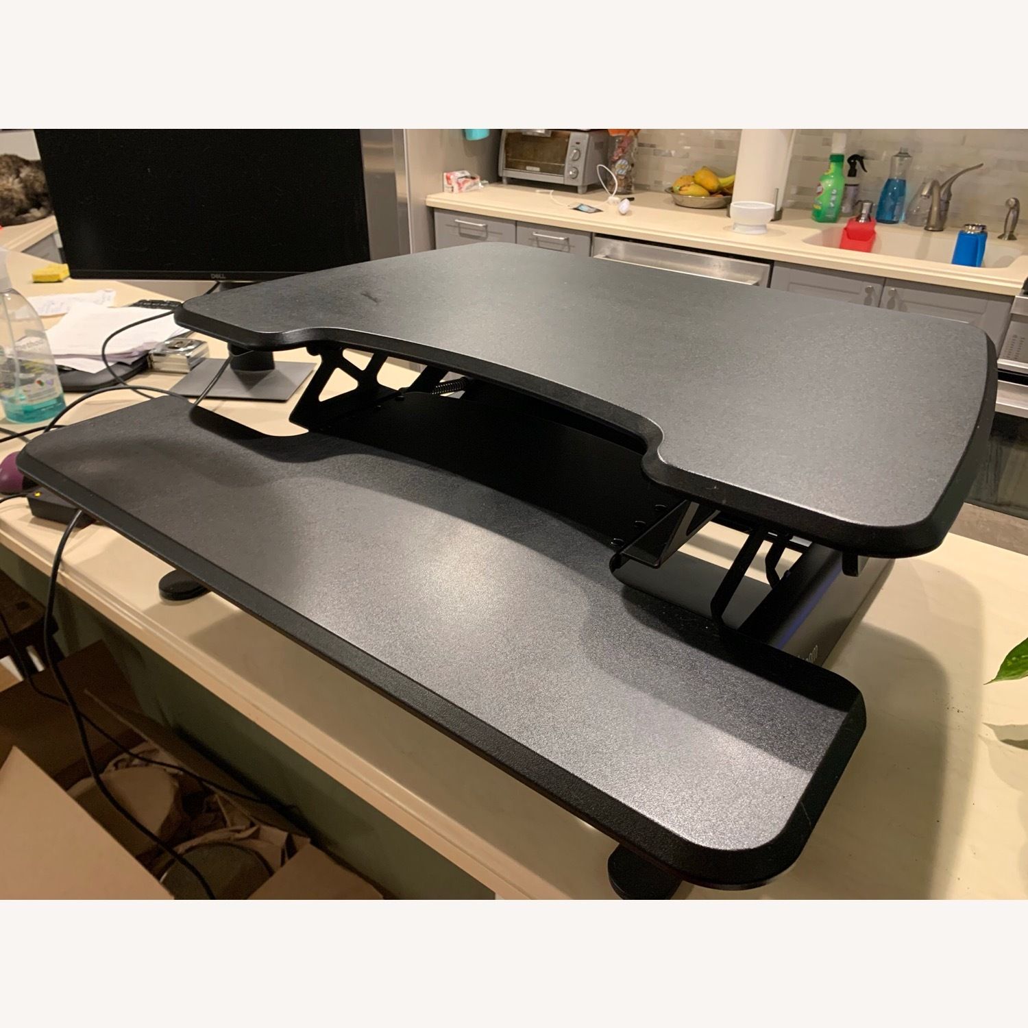 Tabletop Sit-Stand Desk (up to 17 rise) - image-1