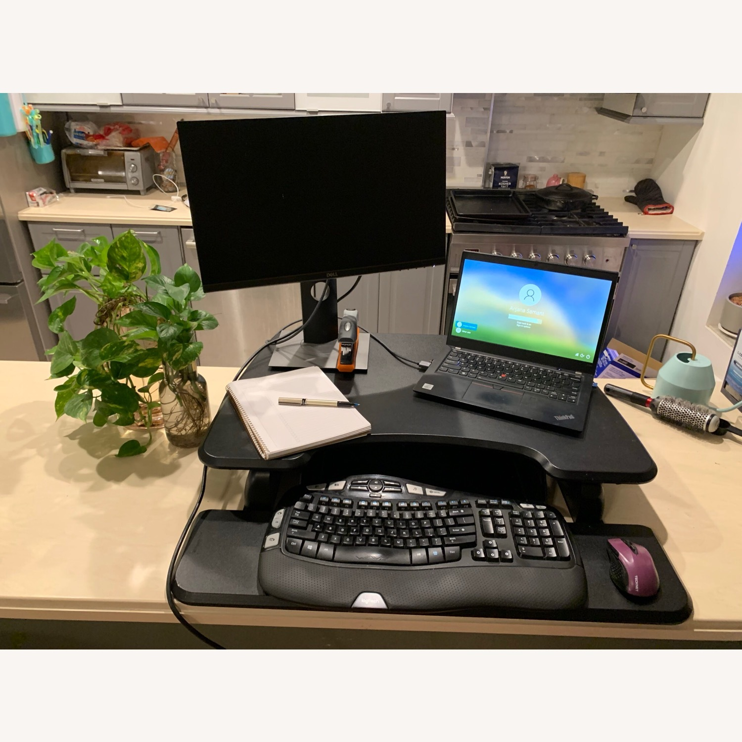 Tabletop Sit-Stand Desk (up to 17 rise) - image-3