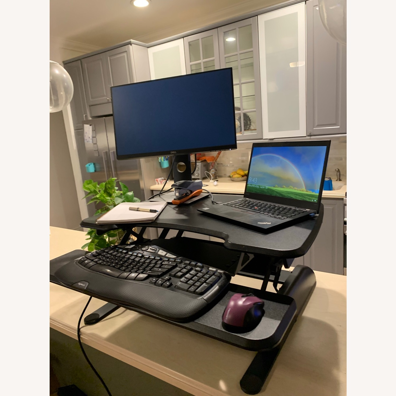 Tabletop Sit-Stand Desk (up to 17 rise) - image-8