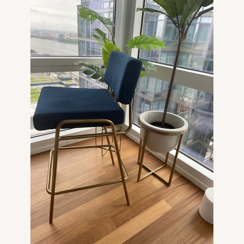 Used West Elm Wire Frame Bar & Counter Stools for sale on AptDeco
