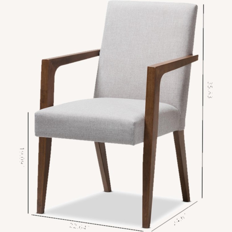 Wayfair Pair of Transitional Armchairs - image-4