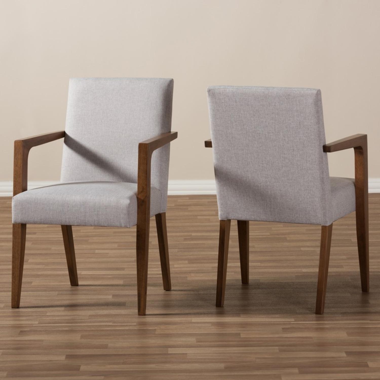 Wayfair Pair of Transitional Armchairs - image-5