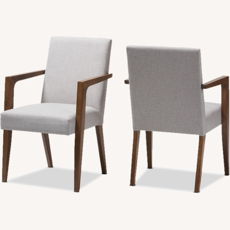 Wayfair Pair of Transitional Armchairs - image-3