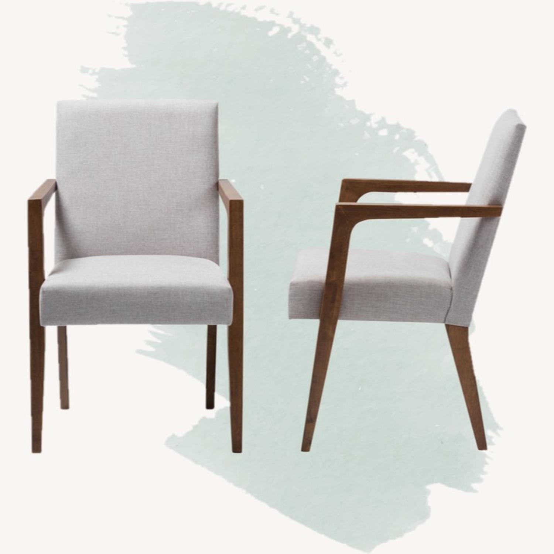 Wayfair Pair of Transitional Armchairs - image-1