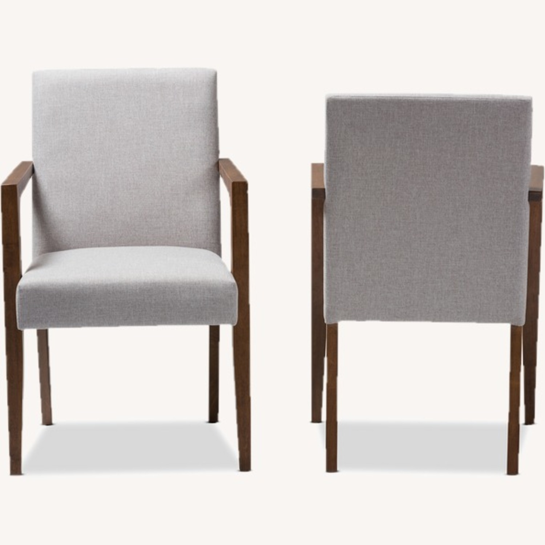 Wayfair Pair of Transitional Armchairs - image-2
