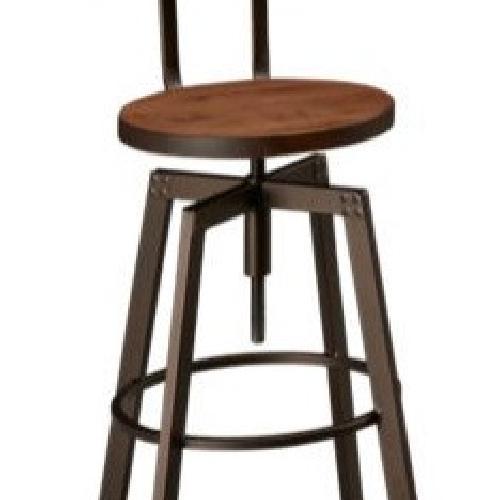 Used Amisco Swivel Stool, Adjustable Height (Set of 2) for sale on AptDeco
