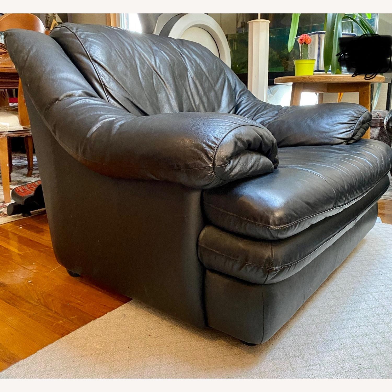 Calia Italia Leather Armchair - image-2
