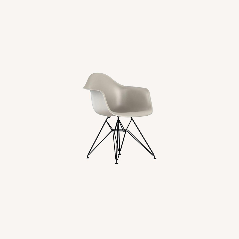 Herman Miller Eames Molded Plastic Armchair - image-0