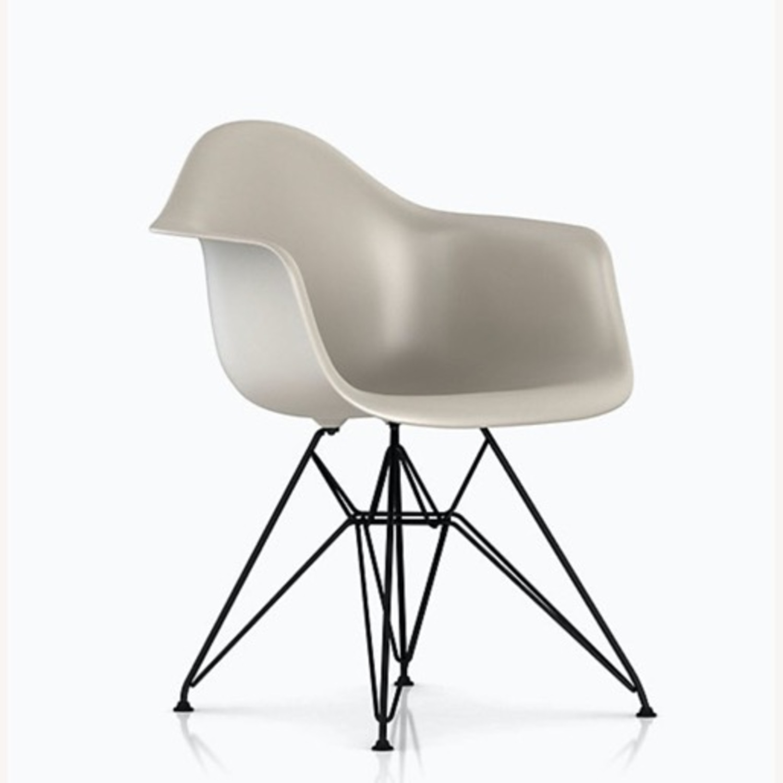 Herman Miller Eames Molded Plastic Armchair - image-1
