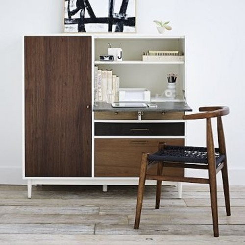 Used West Elm Patchwork Secretary Desk for sale on AptDeco