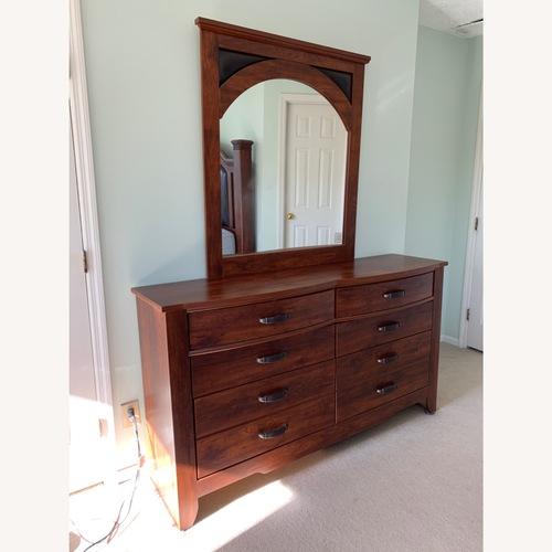 Used Ashley Furniture Wood Bedroom Dresser for sale on AptDeco