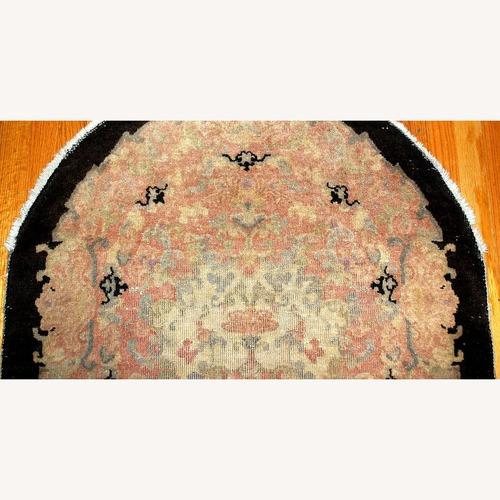 Used Handmade Antique Art Deco Chinese Rug, 1B411 for sale on AptDeco