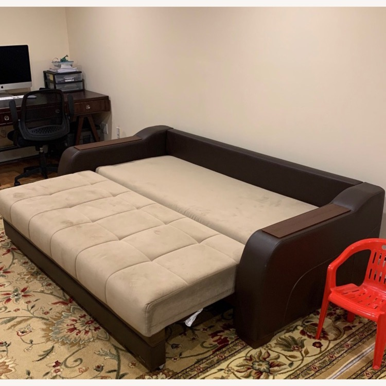 Bellona Convertible Sleeper Sofa - image-6