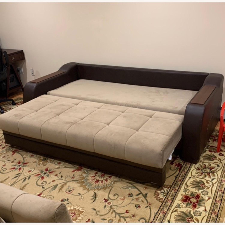 Bellona Convertible Sleeper Sofa - image-7