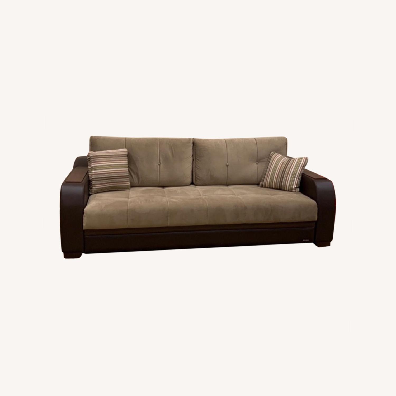 Bellona Convertible Sleeper Sofa - image-0