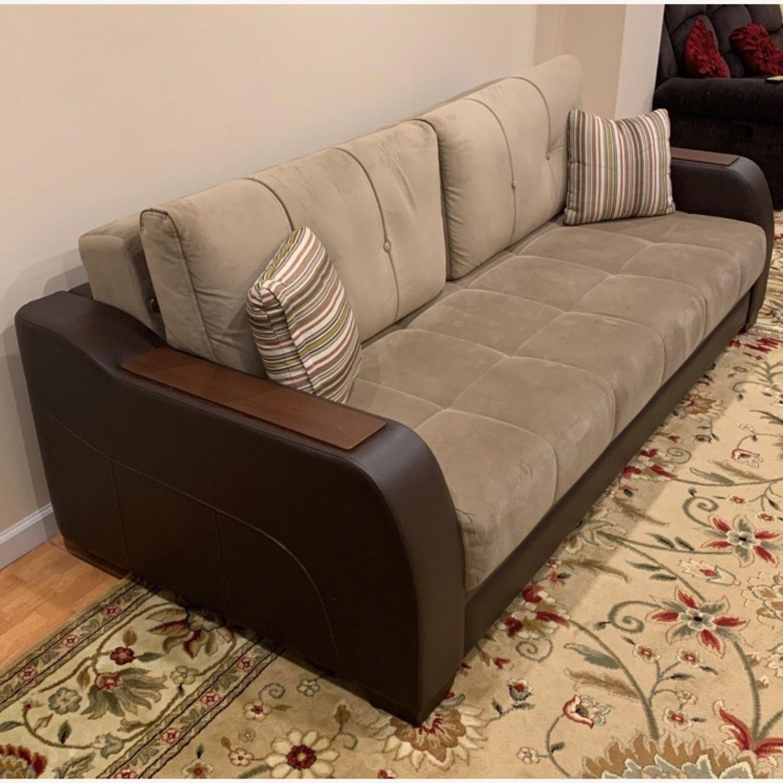 Bellona Convertible Sleeper Sofa - image-1