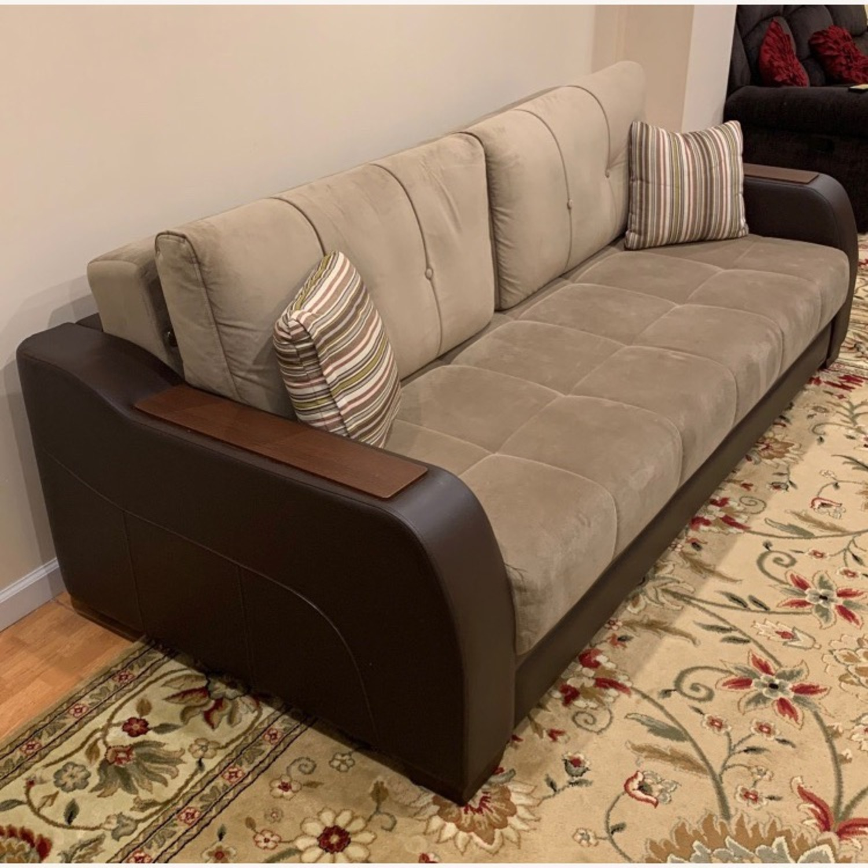 Bellona Convertible Sleeper Sofa - image-3