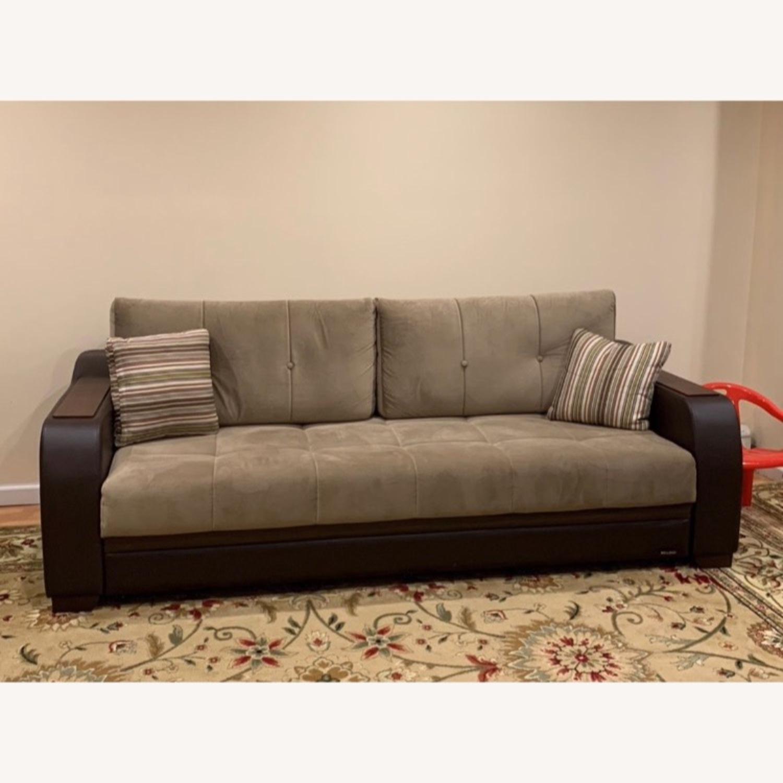 Bellona Convertible Sleeper Sofa - image-2