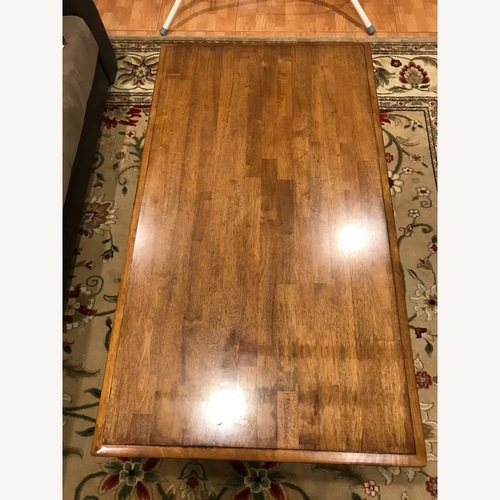 Used Coffee Table with 2 Drawers for sale on AptDeco