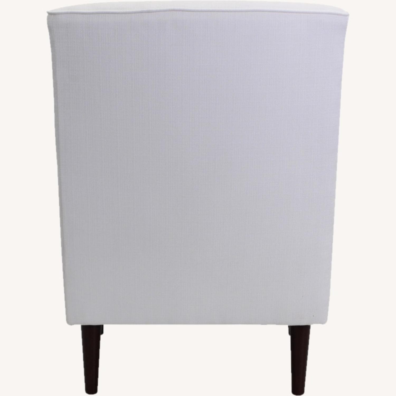 Wayfair Large White Armchair - image-3