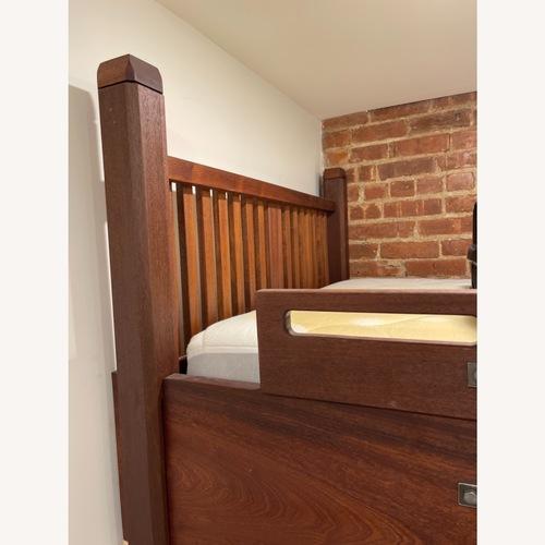 Used Custom Made Wood Loft Bed for sale on AptDeco